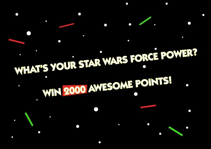 Star Wars Movie announcement 200 Points